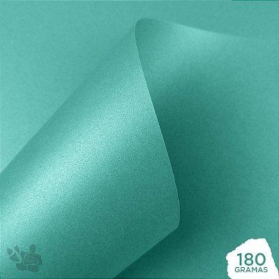 Papel Perolizado - Tiffany - 180g - A4 - 210x297mm