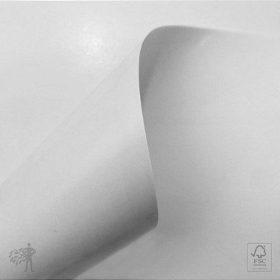 Papel Adesivo Branco Brilho - Laser - A4 - 210x297mm