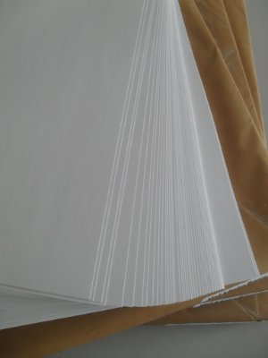 Vinil Adesivo Branco Fosco - Laser - Tradicional - SRA3 - 330x480mm