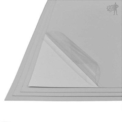 Vinil Adesivo Transparente - Laser - Tradicional - SRA3 - 330x480mm