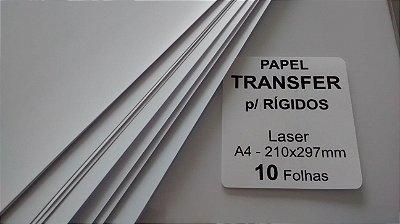 Papel Transfer para Rígidos - Laser - A4 - 210x297mm