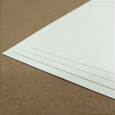 PVC Branco - 200 Micra - Laser - A4 - 210x297mm