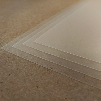 PVC Transparente - 300 Micra - Laser - SRA3 - 330x480mm