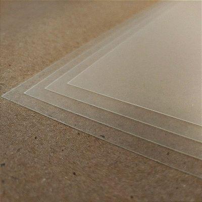 PVC Transparente - 300 Micra - Laser - A4 - 210x297mm
