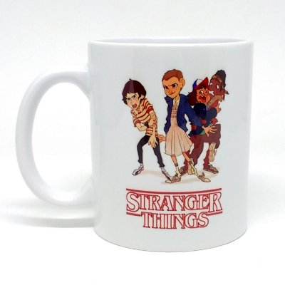 CANECA - Stranger Things elenco