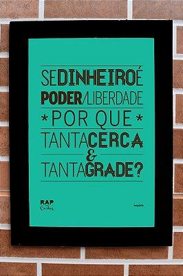 """Quadro """"Grade"""""""