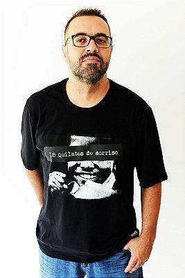 Camiseta Inquérito Preta 18 Quilates de Sorrisos