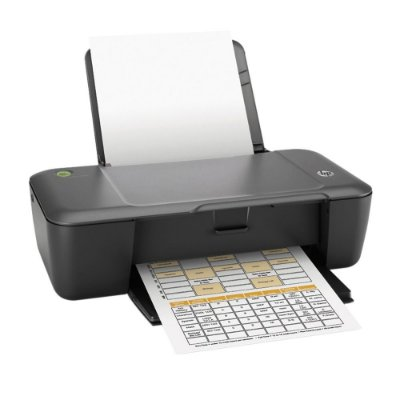 Impressora HP Deskjet 1000 CH340C Preta + Cartucho de Tinta HP 122 CH561HB Preto e Color