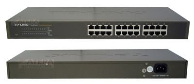 Switch Montável em Rack de 24 portas 10/100Mbps TP-Link