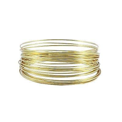 Bracelete Folheado a Ouro 18k Semi Joias