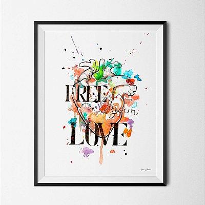Ilustração Free Your Love
