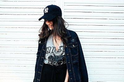 Jaqueta jeans Lola