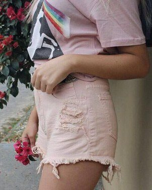 Shorts pink fever