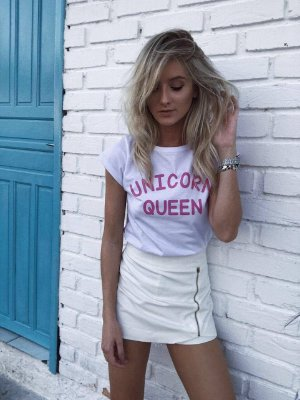 T shirt unicorn queen