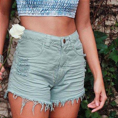 Shorts azul malibu