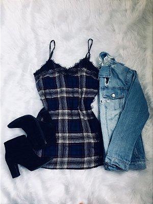 Vestido Sleep Dress Xadrez