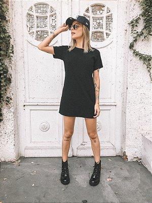 Vestido Tee Preto