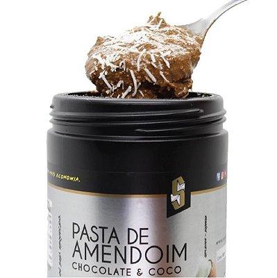 Combo 12 x Pasta de Amendoim Chocolate & Coco - 1,1kg