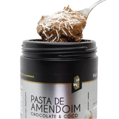 Combo 12 x Pasta de Amendoim Chocolate & Coco 1,1kg - Squeeze