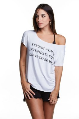 T-SHIRT WOMEN STRONG