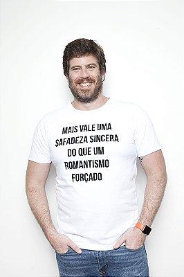 CAMISETA ROMANTISMO BRANCA