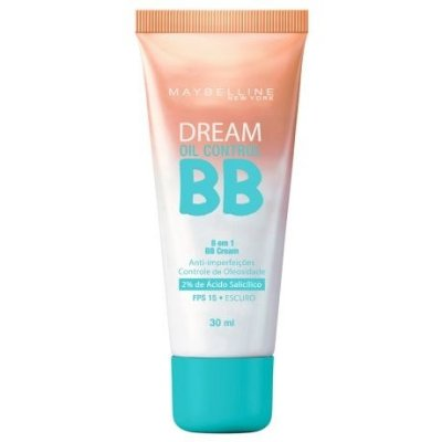 Base Dream BB Cream Oil Control Cor Escuro - Maybelline