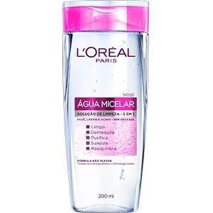 Solução de Limpeza Facial Água Micelar 5 em 1 200ml  - L'Oréal Paris