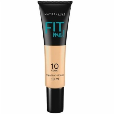 Corretivo Líquido Fit Me Nº 10 Claro - Maybelline