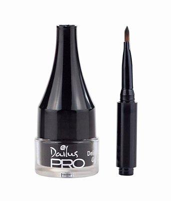 Delineador Em Gel Carbon Pro Preto - Dailus
