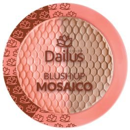 Blush Up Mosaico Cor 02 Coral Iluminado - Dailus