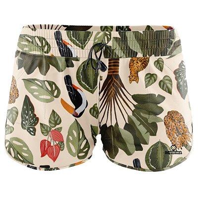Shorts Praia Feminino Estampado LaVíbora - Bengal
