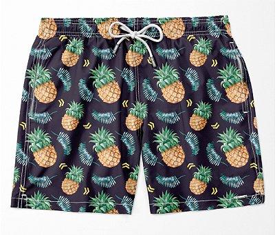 Summer Shorts Premium (Microfibra) - Pineapple