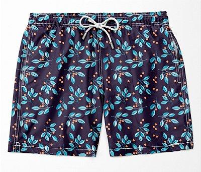 Summer Shorts Premium (Microfibra) - Blueberry