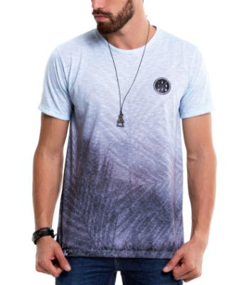 Camiseta Estampada - Ice Foliage