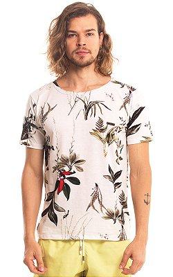 Camiseta Estampada Algodão 30.1 LaVíbora - Natureza