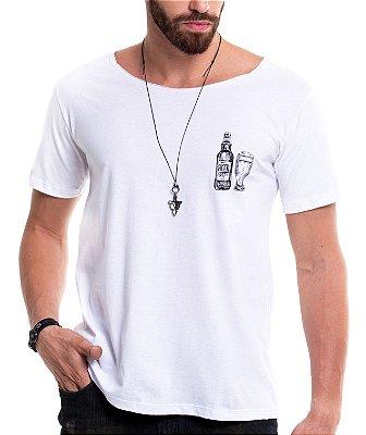Camiseta Gola Canoa - Beer