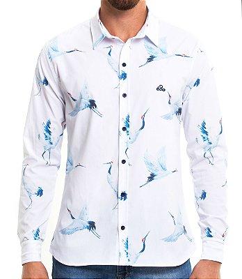Camisa Manga Longa - Birds