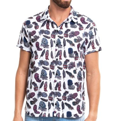 Camisa Estampada - Feather