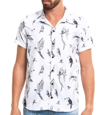 Camisa Estampada - Birds