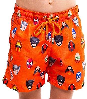 Shortinho Infantil - Heroes