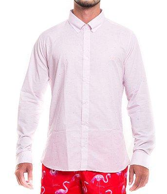Camisa botonê Manga Longa - Pink
