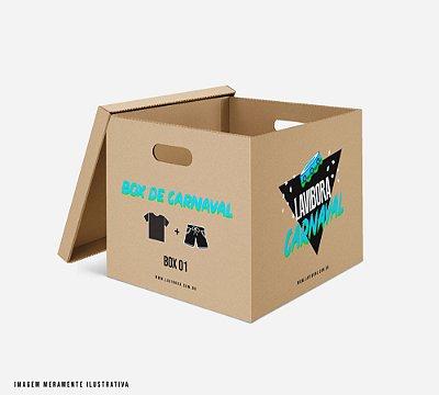 BOX carnaval: 1 camiseta + 1 shorts