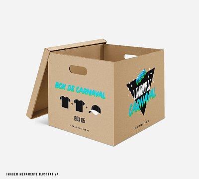 BOX carnaval: 2 camisetas + 1 boné