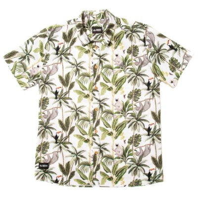 Camisa Estampada Tricoline - Jungle