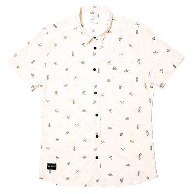 Camisa Estampada - Skull Bones