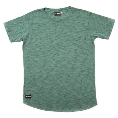 Camiseta Longline Flamê - Green