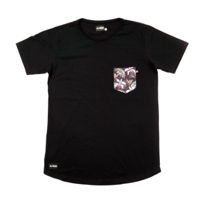 Camiseta Longline - Spring Pocket