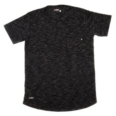 Camiseta Longline Flamê - Black