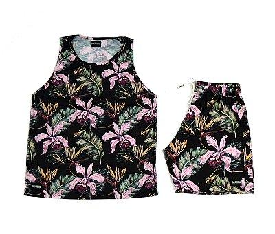 Conjunto Estampado Regata & Shorts - Spring