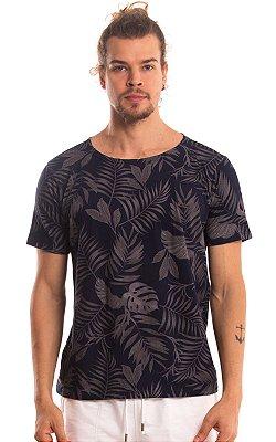 Camiseta Estampada Algodão 30.1 LaVíbora - Marinho